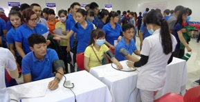 A regular Health checkup was conducted