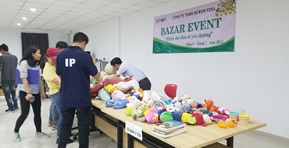 Holding a bazaar in the company