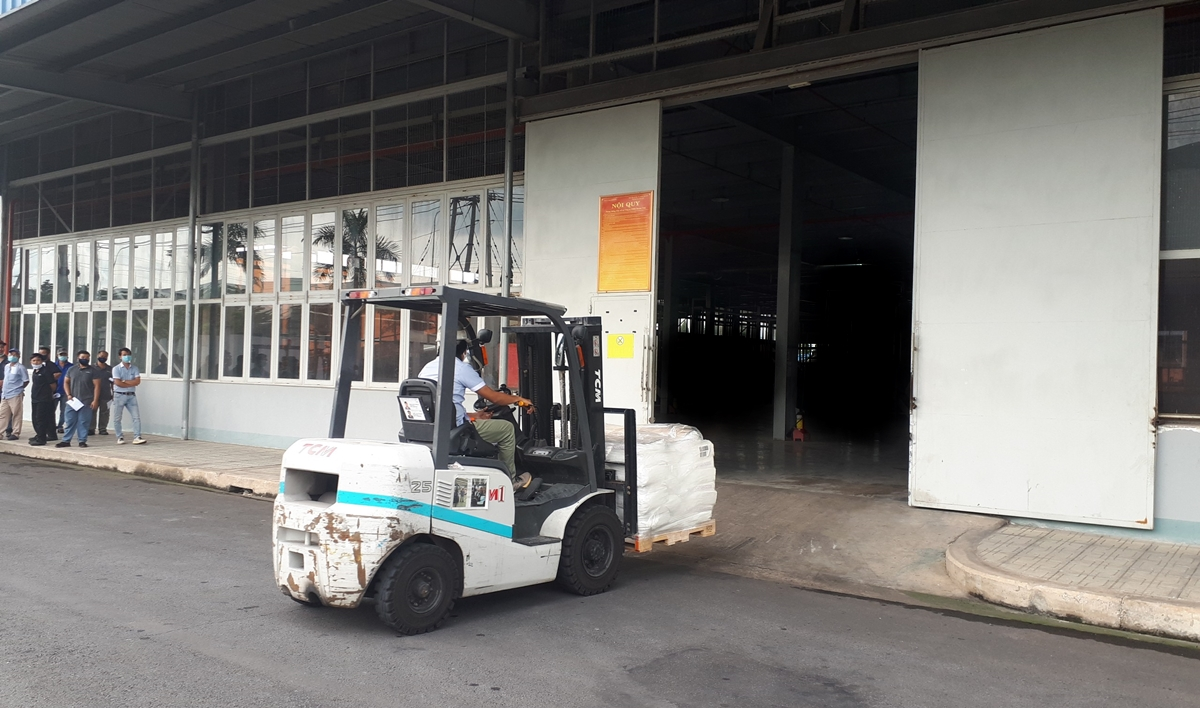 Forklift driver safety training