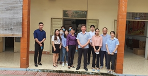 Visit the Bien Hoa Public Disability Center 3 branch